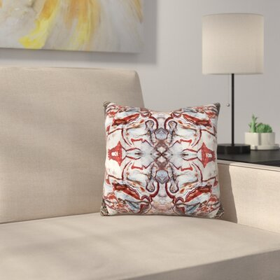 Hopi Rock 1 Throw Pillow Size: 16 x 16