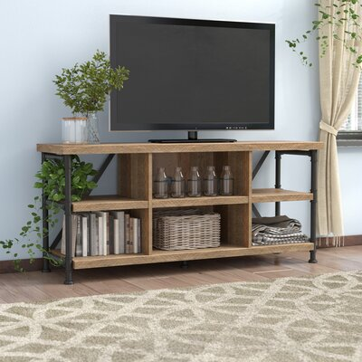 Bailys 54 TV Stand Color: Wood, Fireplace Included: No