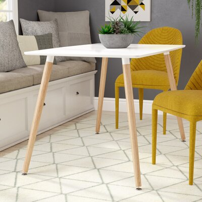 Denell Dining Table Top Finish: White