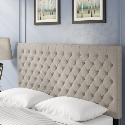 Rosiclare Queen Upholstered Panel Headboard Upholstery: Sand