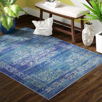 Devan Teal Indoor Area Rug Rug Size: Rectangle 910 x 132
