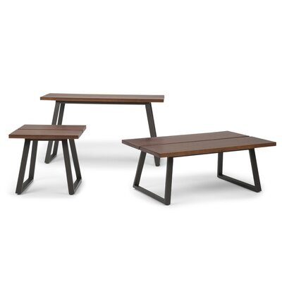Adler 3 Piece Coffee Table Set