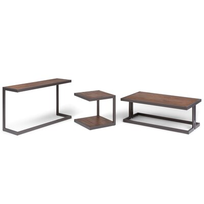 Erina 3 Piece Coffee Table Set