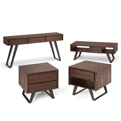 Lowry 4 Piece Coffee Table Set