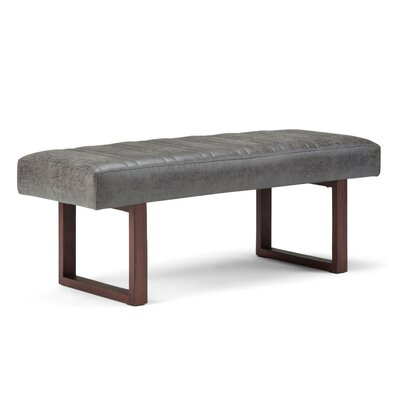 Driscol Faux Leather Bench AXCOT-281