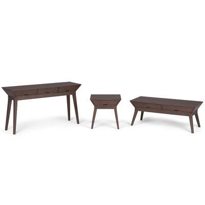 Tessa 3 Piece Coffee Table Set