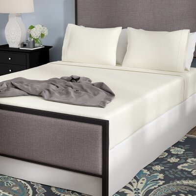 Wellesley Micro Fleece Sheet Set Size: Queen, Color: Ivory