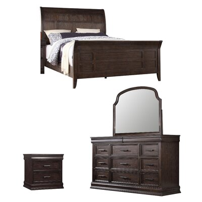 Xcalibur Sleigh Configurable Bedroom Set