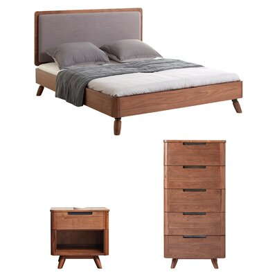 Cottle Platform Configurable Bedroom Set