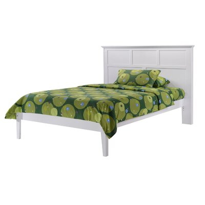 Ickenham Full Panel Bed Color: White