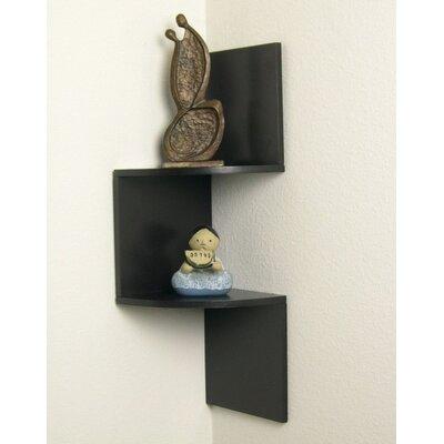 Osterhout Laminated Corner Wall Shelf 094CEBAB2E75448E8A0569F99CA86C71