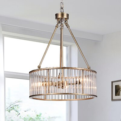 Adelheide 3-Light Drum Pendant