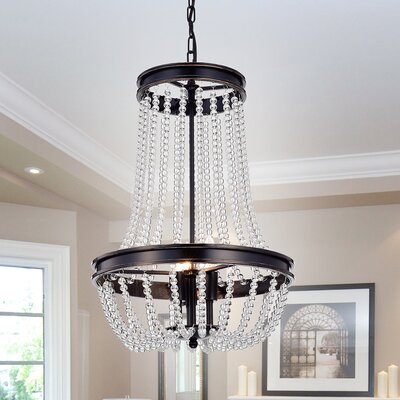 Adalwin Vase 3-Light Empire Chandelier