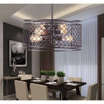 Mcardle 6-Light Drum Chandelier
