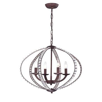 Adalrik 4-Light Globe Pendant