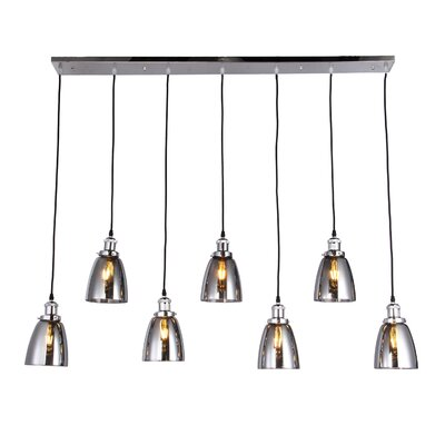 Daub 7-Light Kitchen Island Pendant
