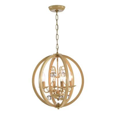 Vollmer 4-Light Globe Pendant