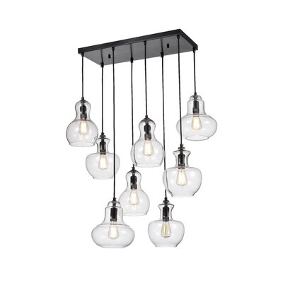 Regency 8-Light Kitchen Island Pendant