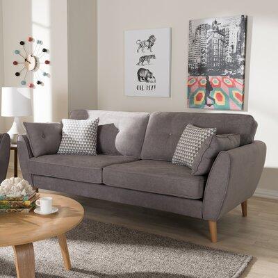 Crosstown Sofa Upholstery: Light Gray