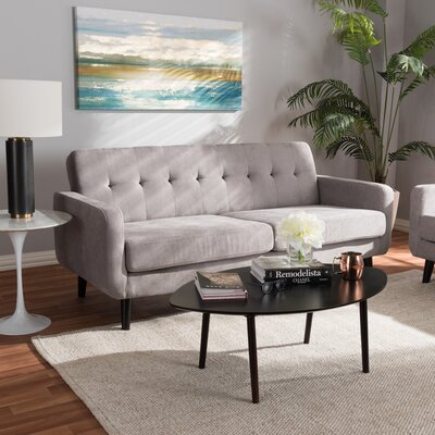 Whalen Sofa Upholstery: Light Gray
