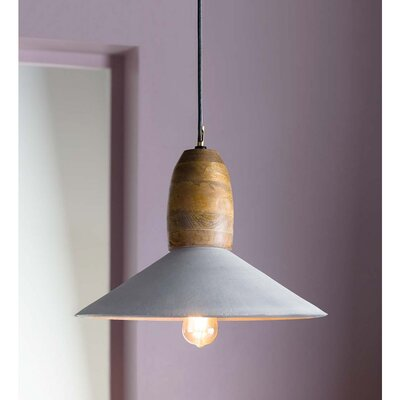 Oberry 1-Light Inverted Pendant