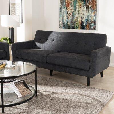 Whalen Sofa Upholstery: Dark Gray