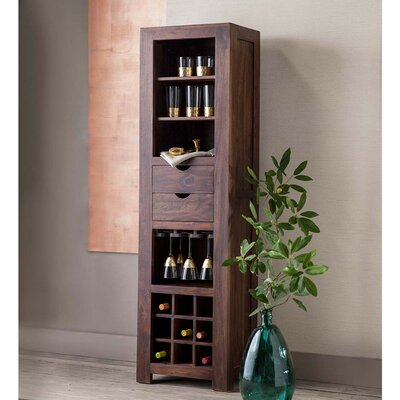 Templin Sheesham Wood Bar Cabinet