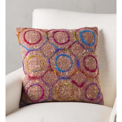 Pursel Handmade Dabu Print Pillow Cover