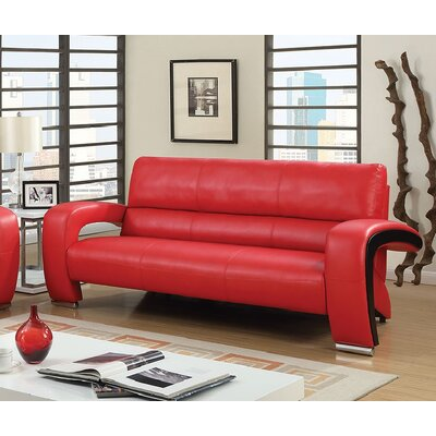 Winbush Standard Sofa Finish: Red