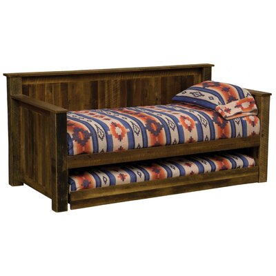 Barnwood Daybed Accessories: Trundle Included