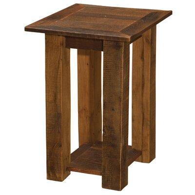 Barnwood Open End Table