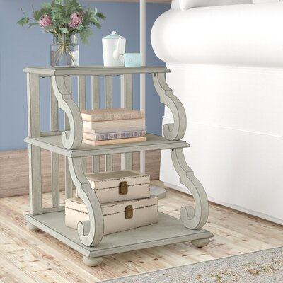 Noisettier End Table Color: Antique White