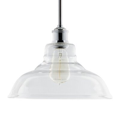Hillwill Chic Vintage 1-Light Inverted Pendant