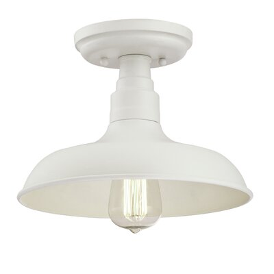Stephine 1-Light LED Semi-Flush Mount