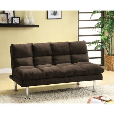 Mcneel Adjustable Sofa Color: Espresso