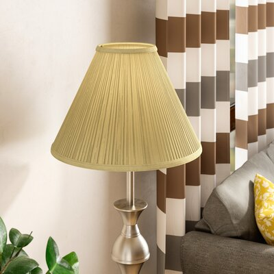 19 Linen Empire Lamp Shade Color: Natural