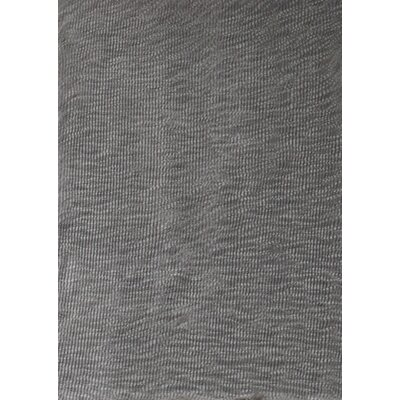 Stephany Feather Down Shag Silver/Gray Area Rug
