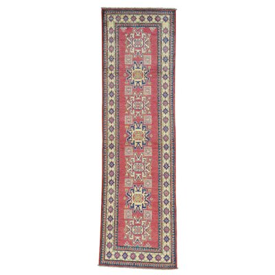 One-of-a-Kind Tillett Geometric Oriental Hand-Knotted Area Rug