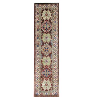 One-of-a-Kind Tillett Chocolate Brown Super Oriental Hand-Knotted Area Rug
