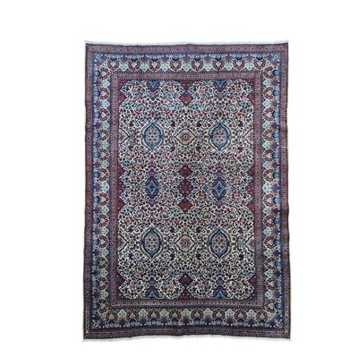 One-of-a-Kind Salvaggio Vintage Birjand Oriental Hand-Knotted Area Rug