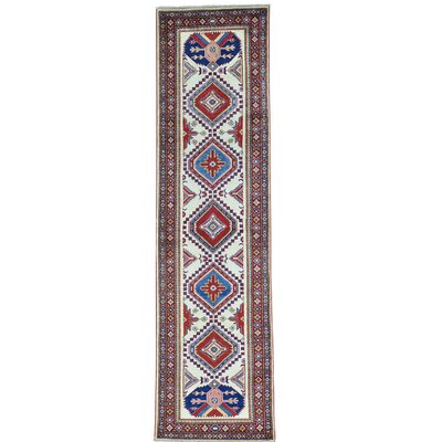 One-of-a-Kind Tillett Geometric Super Oriental Hand-Knotted Area Rug