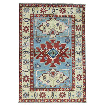 One-of-a-Kind Latimore Geometric Oriental Hand-Knotted Area Rug