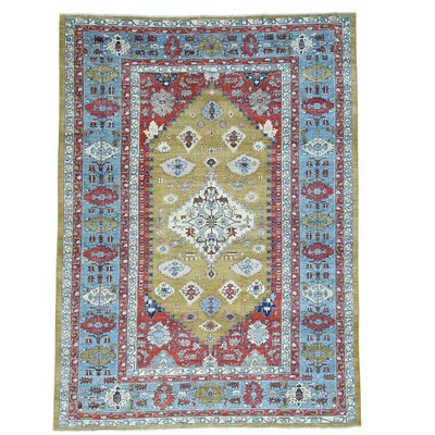 One-of-a-Kind Granberry Oriental Hand-Knotted Area Rug
