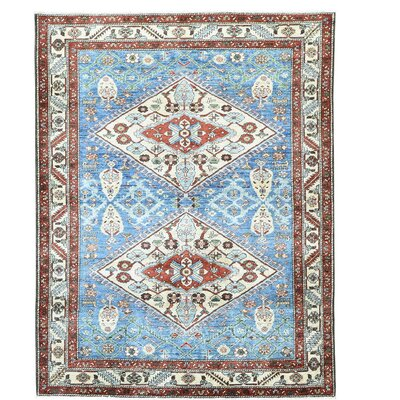 One-of-a-Kind Saltford Bakshaish Oriental Hand-Knotted Area Rug
