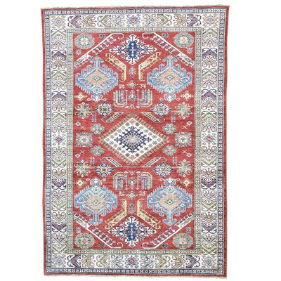 One-of-a-Kind Tillman Super and Geometric Oriental Hand-Knotted Area Rug