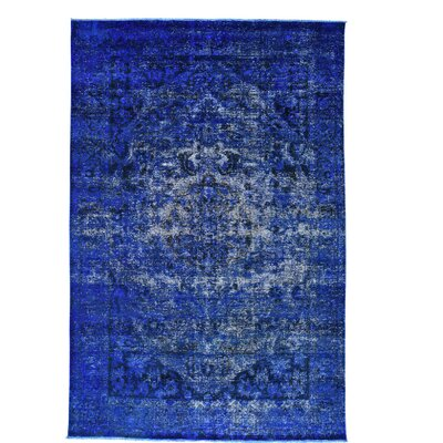 One-of-a-Kind MaryLou Bakhtiar Overdyed Vintage Hand-Knotted Area Rug