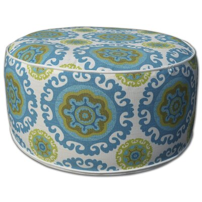 Madawaska Inflatable Pouf Upholstery: Blue