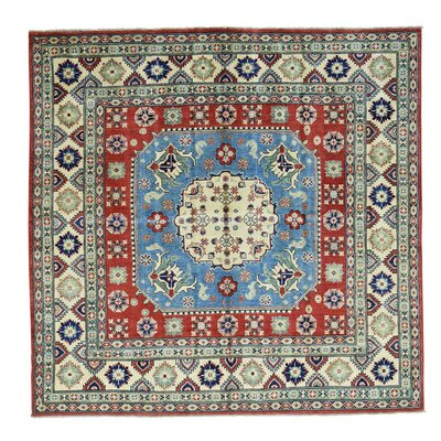 One-of-a-Kind Tillman Geometric Oriental Hand-Knotted Area Rug