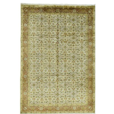 One-of-a-Kind Samons Herat Hand-Knotted Area Rug