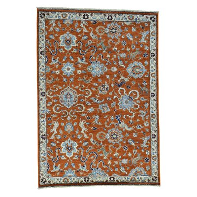 One-of-a-Kind Saltzman Hand-Knotted Area Rug